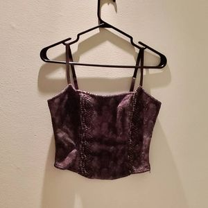 Beautiful Guess velvet camisole